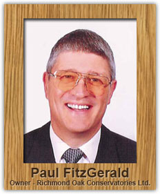 Paul FitzGerald, Richmond Oak Conservatories Ltd