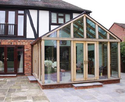oak conservatory orangery designers richmond oak conservatories
